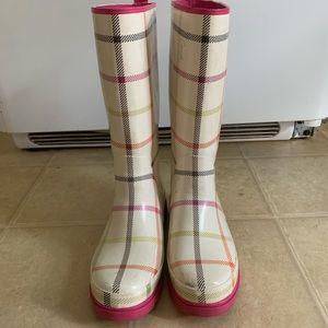 Coach rain boots size 8.5